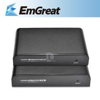New HDMI Extender Sender IR by LAN Transmitter & Receiver 1080P LKV373IR P0010643 Free Shipping