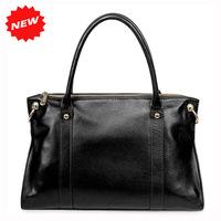 Top-grade Genuine Leather Elegant Ladies Handbags 2014 New Arrival Women Totes Shoulder Messenger Bag,Big Capacity,PST-0867