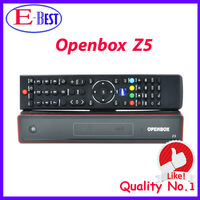 3pc/lot Satellite Receiver Openbox z5 hd original Full HD PVR with 2 USB Port support Youtube Gmail Google CCcam Free Shipping