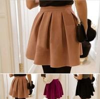 Womon skirt 2013 cloth pleated bitter fleabane bitter fleabane skirt of tall waist autumn wear women's skirts