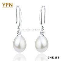 GNE0468 Wholesale White zircon Earrings 34.9*11.6mm, Fashion 925 sterling silver Zircon Earrings Jewelry for women