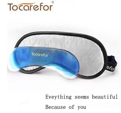 Free shipping(USA CAN UK AUS HongKong Taiwan) and hot sales multi-funcation eyecare cold or hot compress eyeshade(white)(China (Mainland))