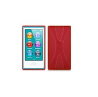 Promotion!!! 8 Colors 2 pcs/lot Quality Silicon Case for iPod Nano 7 X Style protective Cover Free Shipping