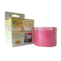 2014 Hot sale high quality kinesio tapes ankle/knee/wrist.shoulder sports kinesiology taping with individuality box