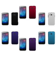 8 Color Hard Rubber Case for Alcatel One Touch M'POP OT5020 5020d TCL M POP Ultra-Slim Back Matte Skin Cover Case + Film (AL016)