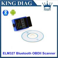 ELM327 V1.5 Mini Bluetooth ELM 327 OBDII OBD-II OBD2 Protocols Auto Diagnostic Scanner Free shipping