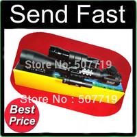 Free shipping I 3-9X40 E tri weaver rail R&G rifle gun airsoft hunting Scope scopes + Red Laser 501B Flashlight Torch