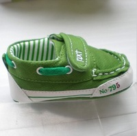 Comfortable Leisure Sailing Toddler First Walkers Shoes Soft Cloth At The Bottom Of The Baby Boys Shoes Size 11-12-13