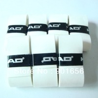For a limited time only!Free shipping(60pcs/lot)white tacky feel and Very thin overgrip/grip-tennis racket/padal tennis/squash