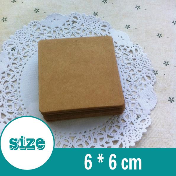 Теги для одежды 6 * 6 500 6*6 cm nichijou 6