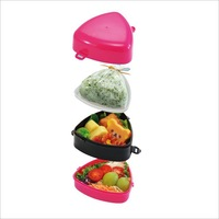 Mini Lunch Boxes, Japanese Triangular Crisper,Creative Household Items,Made in Japan,SANADA,PP,L8994