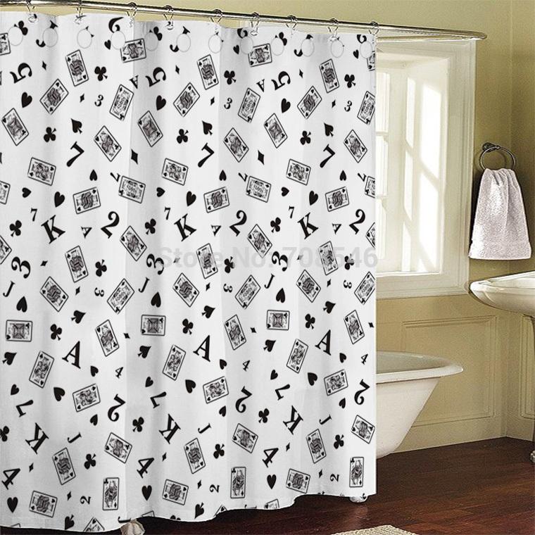 badkamer gordijn douchegordijn bad eend 180x200cm badkamer douche ...