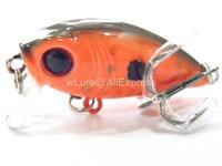 Fishing Lure Crankbait Hard Bait Fresh Water Shallow Water Bass Walleye Crappie Minnow Fishing Tackle C152X11