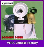 Promotion 3000MW 10dbi Kasens WIFI Antenna KS-518G RTL8187L 802.11 b/g/n 54mbps 5000Meters USB WIFI Adapter Wireless Antenna