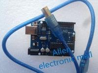 Free shipping 10set UNO R3 MEGA328P ATMEGA16U2 for Arduino 10 pcs board + 10 pcs usb cable