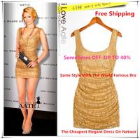 New Summer Spring 2015 European & American Style Dresses Slim Sexy Elegant Tony Lace Women Clothing Women Dress Free Shipping