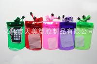 Fashionmo Multicolor mobile phone waterproof bag camera waterproof bag Free shipping