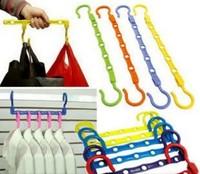 Hanger slip-resistant magic hanger classification of hangers clothes hanging clothes hanging