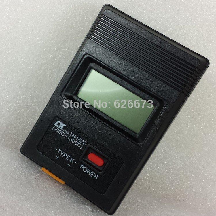 TM 902C Digital LCD Type K Thermometer Single Input Pro w/ Thermocouple Probe(China (Mainland))