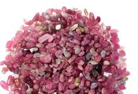 Natural red tourmaline gravel tourmaline rough energy crystal luo dan ore tourmaline 20g/lot