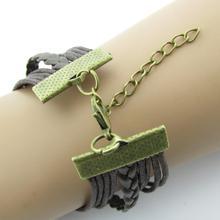 B099 fashion LOVE 8 heart shaped bracelet wedding bracelet dragonfly bracelt B5
