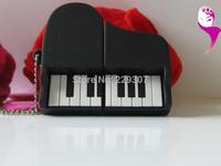 Drop/Free shipping - cartoon piano Factory wholesale price, 1-32 gb USB 2.0 Flash Memory Stick Drive U Disk Festival Thumb/Car