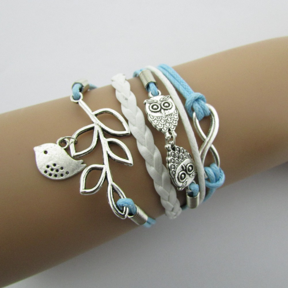 B050 Restore ancient ways the owl of eight leaves more fashionable bright beautiful hand made by