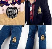 20 Pcs/lot Korea kpop  armband badge cloth badge affixed cloth K-pop star exo Bingbang/snsd/beast/2pm Chest emblem