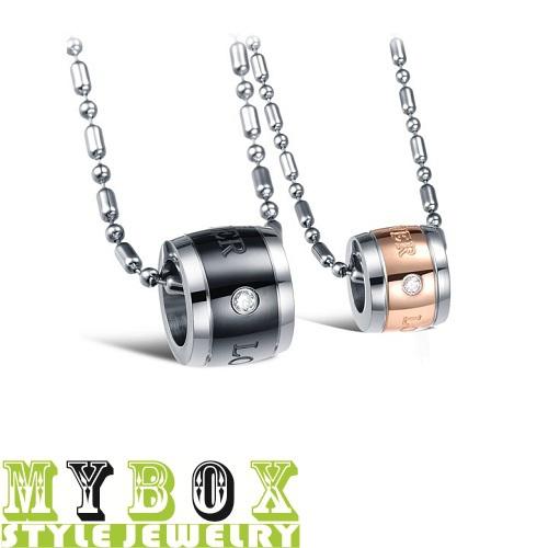 2015 Sale Trendy Lovers Colar Collares New Jewelry Wholesale Eternal Love Couples Men s Women s