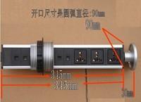 Factory quality assurance/marketing/office desktop socket