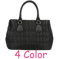 European American Style Women Fashion Luxury Brand Texture Cowhide Handbag Female Evening Tote Messenger Genuine Leather bags