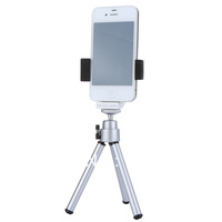 Rotatable Stand Holder Bracket + Tripod for Samsung Galaxy S2 S3 S4 for autodyne Self-Timer