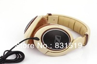HD598 Headset mp3 mp4 earphones computer headset earphones HIFI headset headphones with retail box