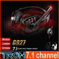 SOMIC G927 ShuoMeiKe G927 7.1 channel combat USB head phones Powerful Bass Comfort for gamers