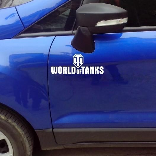 World Of Tanks Car Stickers And Decals Vinyl For Volkswagen skoda golf volvo kia ecosport etc(China (Mainland))