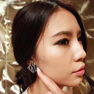 10  mix order  Free Shipping Korean Fashion Imitation Diamond Striped    White And Korean Mix