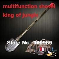 Free fast Shipping Multifunctional shovel folding shovel outdoor camping tool camping/fishing/hunting/survival/car enthusiast
