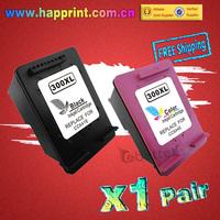 Printer Ink Cartridge for HP 300 300XL CC641E CC644E Deskjet D1660 D2560 D5560 F2420 F2480 F4210 F4272 F4280 F4580...(1Pair=2PK)