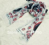 2014 fashion summer muslim hijab high quality silk chiffon scarf for women pareo shawls C008
