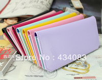 Free shipping cheap Card holder ultra-thin card holder multi card holder card case women's long design wallet