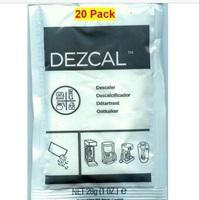 URNEX DEZCAL COFFEE MAKER & ESPRESSO DESCALER 20 PACK