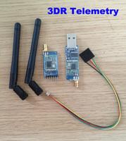 Free Shipping  Single TTL 3DRobotics 3DR Radio Telemetry Kit 433Mhz for APM APM2.5 2.52 2.6