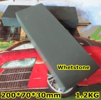 2014 Natural sharpener whetstone stone terrazzo knife sharpening bluestone wholesale customization size Free Shipping