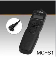 MC-S1 Timer Shutter Release Cord time remote control for FOR Sony a77 a65 a37 a57 a99 a900 a580 a850 nex7