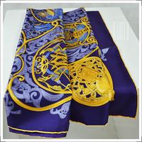 2014 Real Special Offer Animal Adult Fashion Women 80cm-100cm Arabian Nights Classic Heavyweight Twill Scarf 100% Silk Scarves