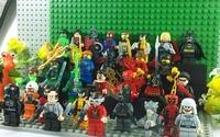 Decool Super hero Toy Robin Wolverine Green lantern Loki The Flash Ninja Jay Cole Kai Star wars Block 30Pcs Lot action Figures