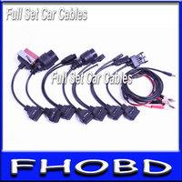 5 pcs obd2 car cable for tcs scanner cdp pro plus diagnostic car interface full set 8 car cables