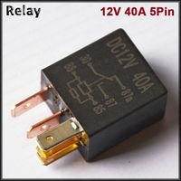 Violet automotive relay 12v 5 pin fog lamp oil pump refires relay