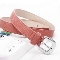 Candy Color Belts for Women Fashion Strap Female Fashion Cintos Femininos Leather Belt Women