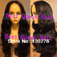 Free shipping pervian human hair wigs-10-24 inch natural black full lace brazilian hair wigs and lace front human hair wigs
